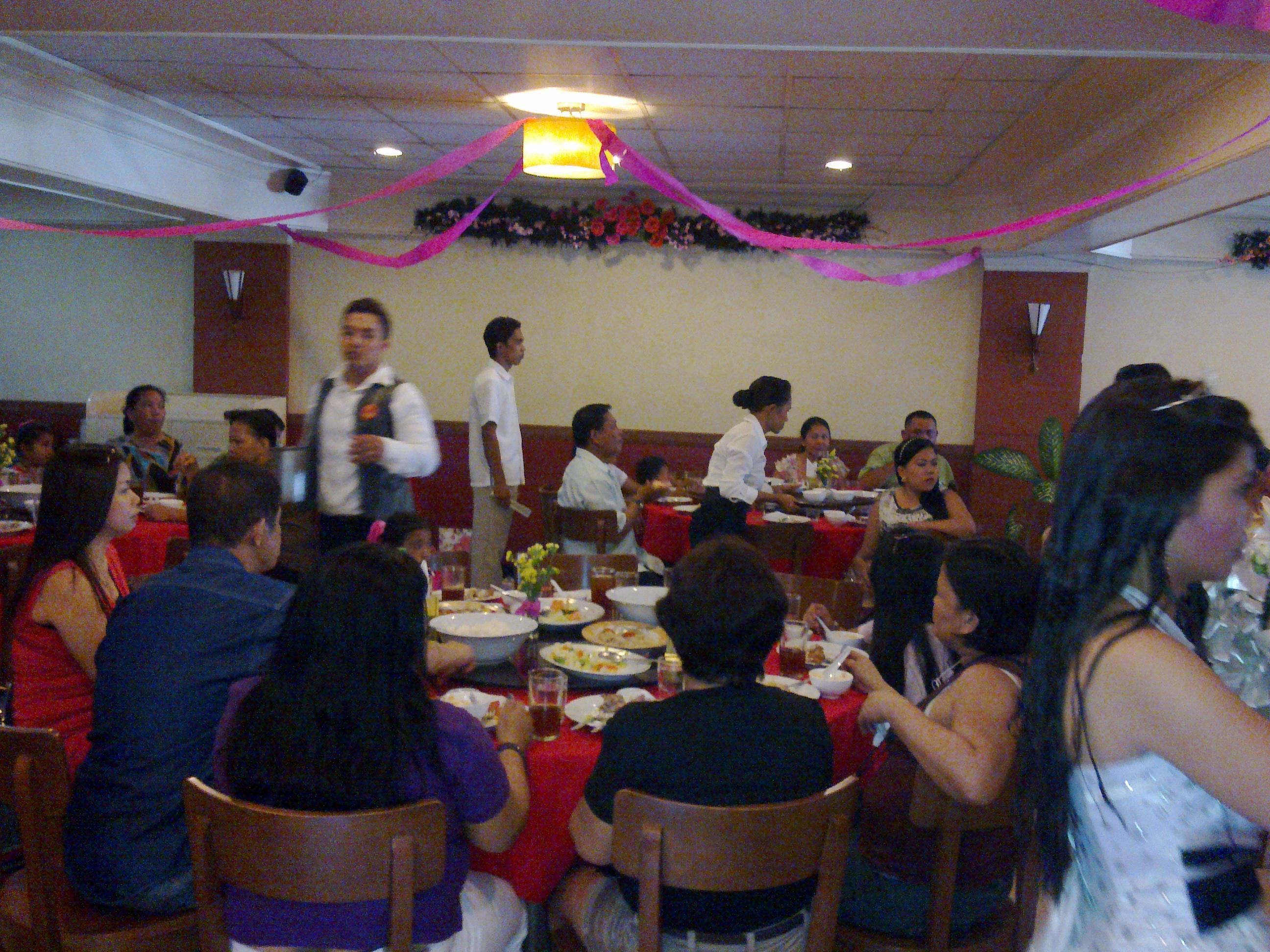 Chinese Wedding Reception Macks Restaurant